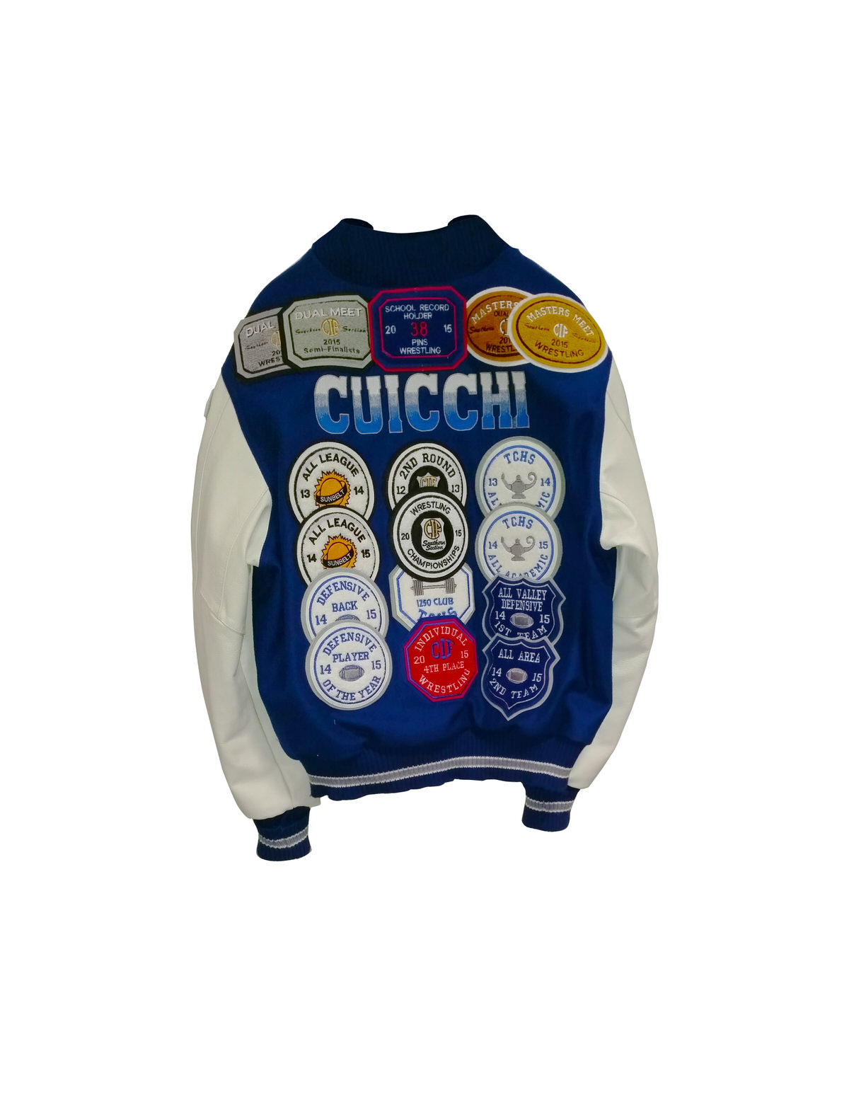 Embroidery more letterman jackets
